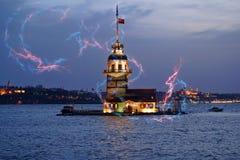 Free Maiden`s Tower Kiz Kulesi In Istanbul - Turkey Stock Photo - 119312680