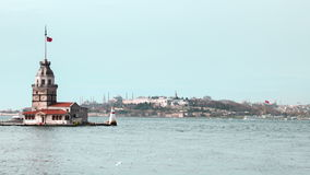 Maiden's Tower stock footage