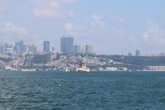 The Maiden`s Tower Turkish: Kız Kulesi stock photos