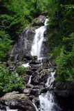 The maiden tears. Waterfall, The nature of Caucasus Stock Photo