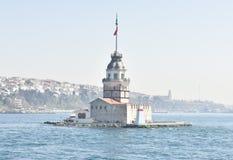 Maiden& x27; torre de s & x28; Kizkulesi& x29; Bosporus Istambul Imagem de Stock Royalty Free