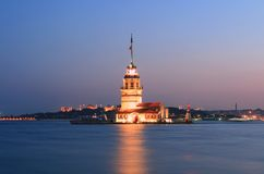 Maiden tower Royalty Free Stock Images