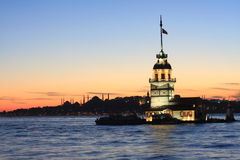 Maiden Tower Stock Photos