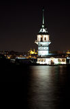 Maiden tower. At the istanbul turkey Royalty Free Stock Images