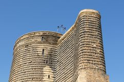 The Maiden Tower Royalty Free Stock Photography