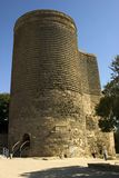 Maiden Tower. Baku, Azerbaijan. royalty free stock photo