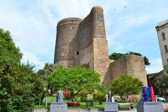 Maiden Tower. In Baku Azerbaijan Royalty Free Stock Image