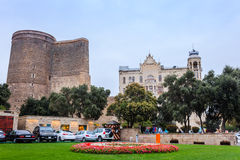 Maiden tower in Baku Stock Photo