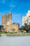 Maiden Tower in Baku, Azerbaijan Stock Photography
