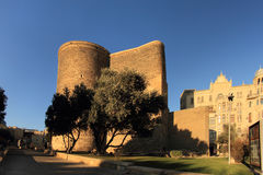 Maiden Tower (Baku) Stock Photography