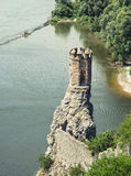 Maiden tower of Devin castle Royalty Free Stock Image