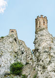 Maiden tower of Devin castle, Slovak republic Stock Images