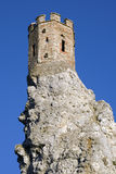 The Maiden Tower of Devin castle Royalty Free Stock Photos
