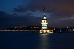 Maiden Tower istanbul Stock Image