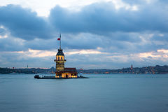 Maiden Tower istanbul Stock Photography