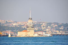 Maiden Tower in Istanbul Royalty Free Stock Image
