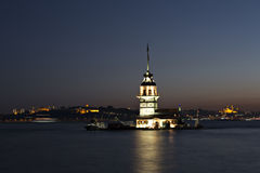 Maiden Tower, Istanbul Royalty Free Stock Photos