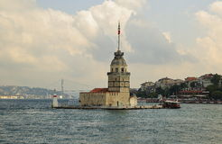 Maiden Tower, Istanbul Royalty Free Stock Photography