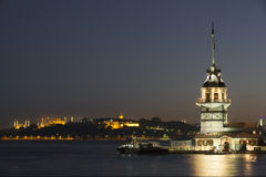 Maiden Tower, Istanbul, Turkey Stock Image