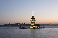 Maiden Tower, Istanbul, Turkey Royalty Free Stock Photos