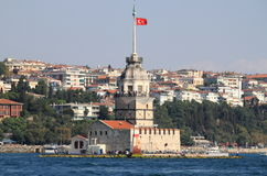 Maiden Tower in Istanbul Stock Photos