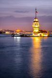 Maiden Tower-Istanbul Turkey Royalty Free Stock Image