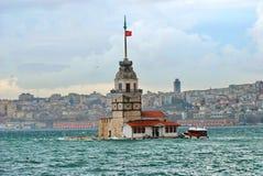 Maiden Tower. Istanbul Turkey (Kizkulesi Stock Images