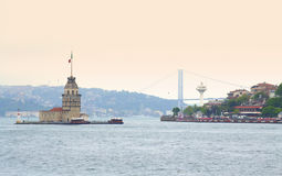 Maiden tower Istanbul Turkey Royalty Free Stock Photos