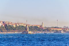 Maiden Tower Istanbul Royalty Free Stock Photos