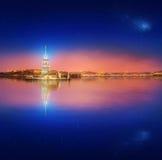 Maiden Tower or Kiz Kulesi Istanbul Royalty Free Stock Photography
