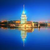 Maiden Tower or Kiz Kulesi Istanbul Royalty Free Stock Image