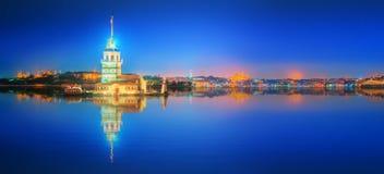 Maiden Tower or Kiz Kulesi Istanbul stock photos
