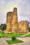 Maiden tower, a landmark of Baku Stock Photography