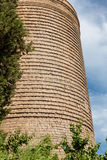 The Maiden Tower in old city of Baku, Azerbaijan Stock Image