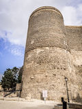 Maiden Tower Royalty Free Stock Photography