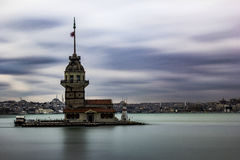Maiden towers. Istanbul Royalty Free Stock Photos