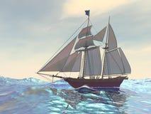 Maiden Voyage stock illustration