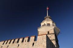 Maidens Tower in Bosphorus Strait, Istanbul. City, Turkey Stock Image