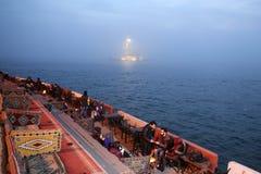 Maidens Tower in Bosphorus Strait, Istanbul Stock Photo