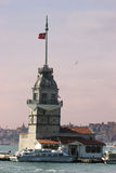 The Maidens Tower in Istanbul Royalty Free Stock Photo
