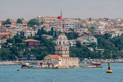 Maidens Tower Istanbul Royalty Free Stock Photography