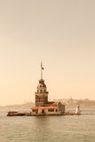 Maidens Tower located in Istanbul Stock Photo