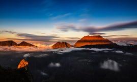 Maido-Sonnenuntergang Lizenzfreie Stockfotografie