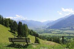 Maienfeld, die Schweiz Stockfoto