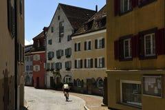 Maienfeld, Graubunden, Switzerland stock photos