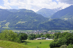 Maienfeld, Switzerland Royalty Free Stock Photo