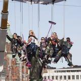 Maifeiertag Eve in Helsinki Stockfotografie