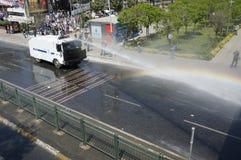 Maifeiertag in Istanbul Stockbild