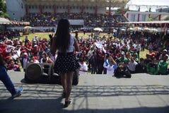 Maifeiertag in Semarang-Stadt Lizenzfreies Stockbild