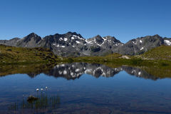 Maighelspass, Urner Alpen, Switzerland Royalty Free Stock Photos